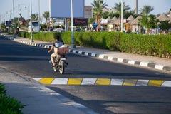 Erholungsort in Ägypten, Straße Lizenzfreies Stockfoto