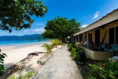 Erholungsort auf Tioman-Insel Malaysia Stockfoto