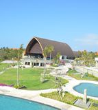 Erholungsort in Bali Stockbild
