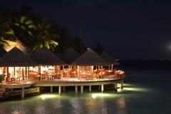 Erholungsort Baros Malediven Stockbild