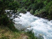 Erholungsort Issyk-Ata in Kirgisistan Lizenzfreie Stockfotos
