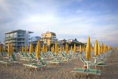 Erholungsort Italien Lido Di Jesolo Lizenzfreies Stockfoto