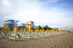 Erholungsort Italien Lido Di Jesolo Stockfotografie