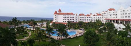 Erholungsort Jamaika Stockfotos