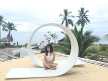 Erholungsort Kinaari, MANADO, schöner Platz, Ansicht Stockbilder