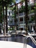 Erholungsort an Patong-Strand Phuket Stockfotos