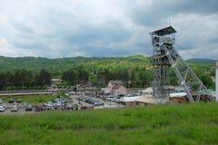 Erholungsort Slanic Prahova Stockbilder