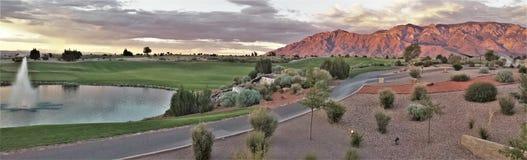 Erholungsort u. Kasino Sandia in Albuquerque stockfotos