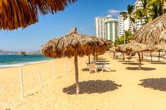 Erholungsort von Acapulco, Mexiko Stockfotos