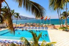 Erholungsort von Acapulco, Mexiko Lizenzfreies Stockbild