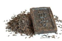 erhpu-tea Arkivfoton