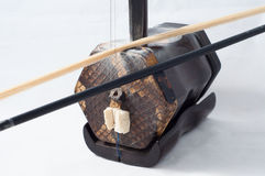 Erhu fiddle Royalty Free Stock Photo