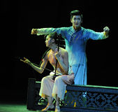 Erhu music-The second act of dance drama-Shawan events of the past Stock Photos