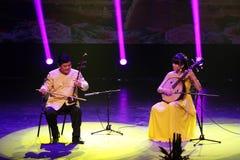 Erhu and Ruan performs at Bahrain APRIL 27, 2013 Stock Photo