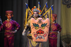 Erhualian-Beijing Opera: Chu Han contention Royalty Free Stock Photo