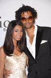 Eric Benet,Kelly Stone. Eric Benet & daughter India Benet at the first annual Class of Hope Prom 2007 charity gala at the Sportsmen's Lodge, Studio City. The Stock Photography