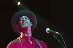 Eric Bibb. In concert Live music festival QM Royalty Free Stock Photography