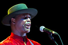 Eric Bibb. In concert Live music festival QM Royalty Free Stock Photo