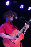 Eric Bibb. In concert Live music festival QM Royalty Free Stock Images