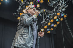 Eric burdon, england, notodden blues festival Stock Photography