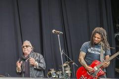Eric burdon, england, notodden blues festival Stock Image