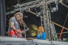 Eric burdon, england, notodden blues festival Royalty Free Stock Photo