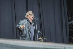 Eric burdon, england, notodden blues festival Stock Photos