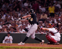 Eric Byrnes, Oakland Athletics outfielder Royalty-vrije Stock Afbeelding