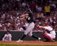 Eric Byrnes, Oakland Athletics outfielder Στοκ εικόνα με δικαίωμα ελεύθερης χρήσης
