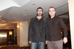 Eric Cantona Royalty Free Stock Photography