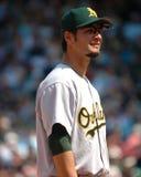 Eric Chavez, Oakland Athletics immagine stock