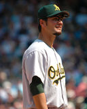Eric Chavez, Oakland Athletics Stock Image