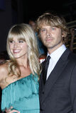 Eric Christian Olsen, Sarah Wright Stock Photo