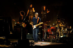 Eric Clapton ad Albert Hall May reale 2013 Immagini Stock