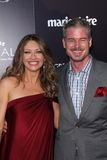 Eric Dane,Rebecca Gayheart. Rebecca Gayheart, Eric Dane  at the Chrysalis Butterfly Ball 10th Anniversary Event, Private Residence, Los Angeles, CA. 06-11-11 Stock Photo