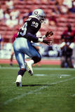 Eric Dickerson Oakland/Los Angeles Raiders. Former Oakland/LA Raiders Hall of Fame Runningback Eric Dickerson. (image taken from color slide Royalty Free Stock Images