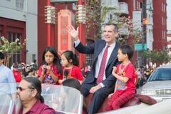 Eric Garcetti, de Burgemeester van Los Angeles Royalty-vrije Stock Afbeelding
