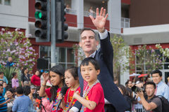 Eric Garcetti, Los Angeles-Bürgermeister Stockfotografie