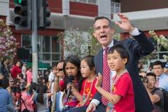 Eric Garcetti, sindaco di Los Angeles Fotografia Stock