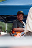 Eric Johnson, guitar player with Lou Donaldson at the Charlie Parker Jazz Festival in Manhattan, 2017 Stock Images