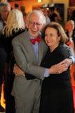 Eric Kandel och hans fru Royaltyfri Bild