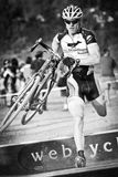 Eric Martin - Cyclocross Pro Stockbild