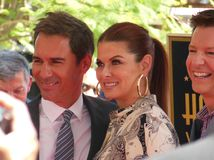 Eric McCormack Debra Messing Sean Hayes Will und Grace Sitcom stockfotografie