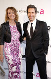 Eric McCormack and Janet Holden Stock Photos