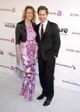 Eric McCormack y Janet Holden Imagen de archivo libre de regalías