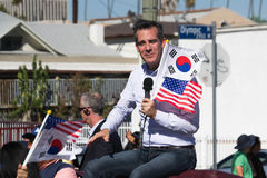 Eric Michael Garcetti Los Angeles Mayor at 40th Los Angeles Kore Stock Photography