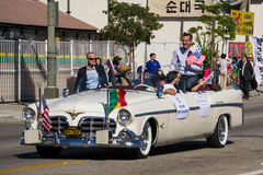 Eric Michael Garcetti Los Angeles Mayor at 40th Los Angeles Kore Stock Photography