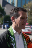 Eric Michael Garcetti  Mayor of Los Angeles at 73th Annual Nisei Week Grand Parade Stock Photos