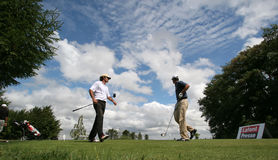 Eric Moreul at the golf Prevens Trpohee 2009 Royalty Free Stock Photo