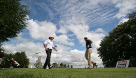 Eric Moreul no golfe Prevens Trpohee 2009 Foto de Stock Royalty Free